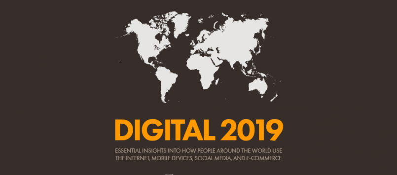 Reporte Digital Global 2019.