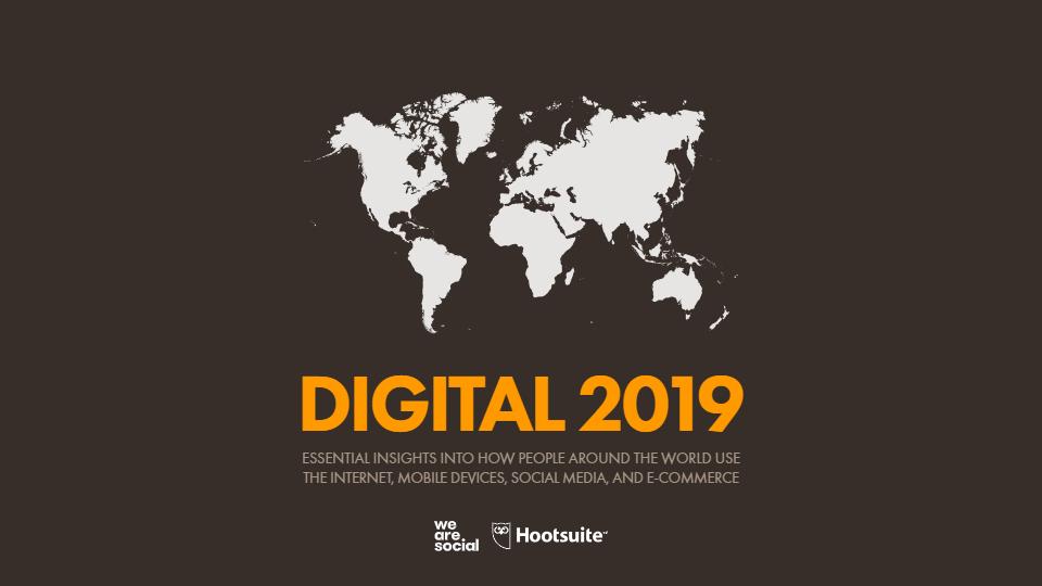 Reporte Digital Global 2019.