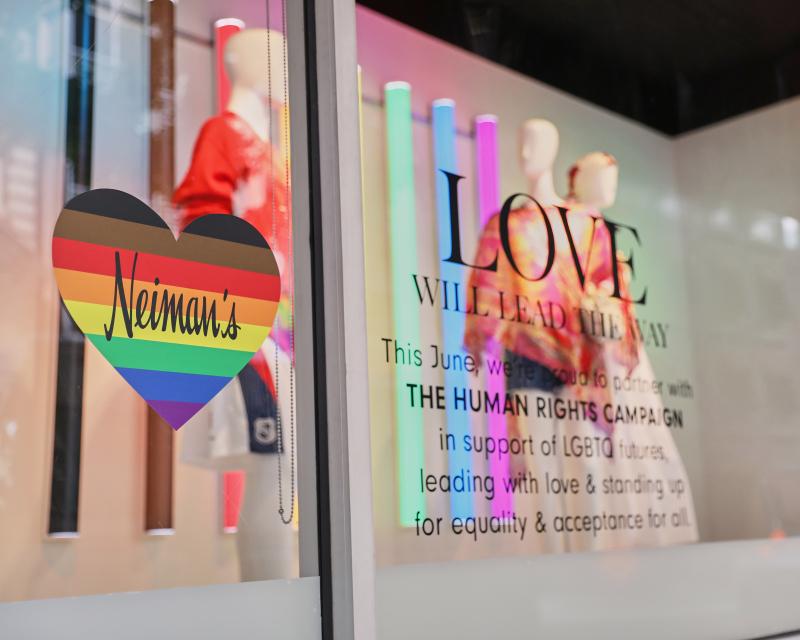 Vitrina LGBTI de Neiman's