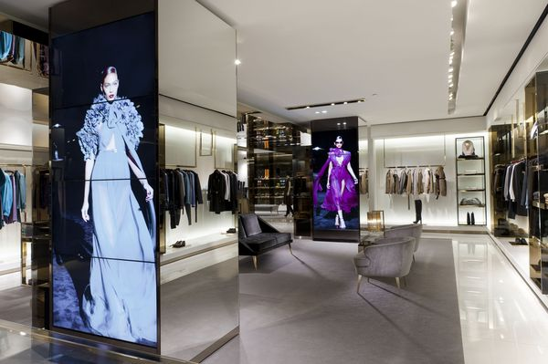 Display interantivo de Gucci